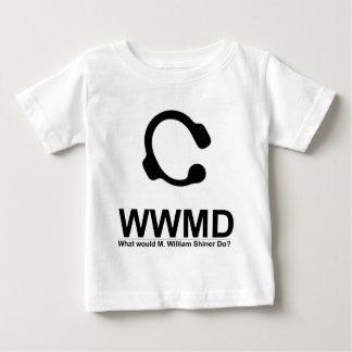 大量生産されるWWMD ベビーTシャツ