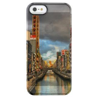 大阪川 クリア iPhone SE/5/5sケース