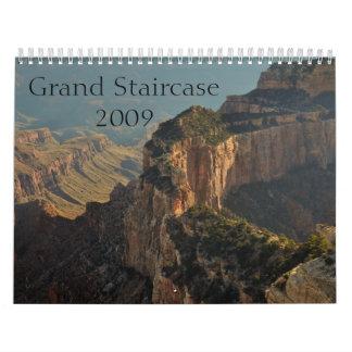 大階段 カレンダー