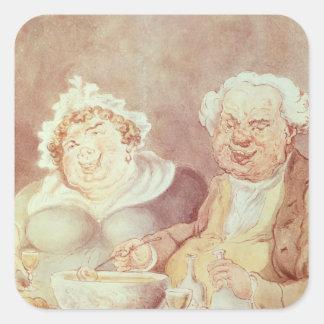 大食家、c.1800-05 スクエアシール