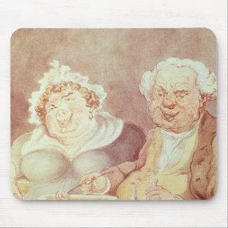 大食家、c.1800-05 マウスパッド