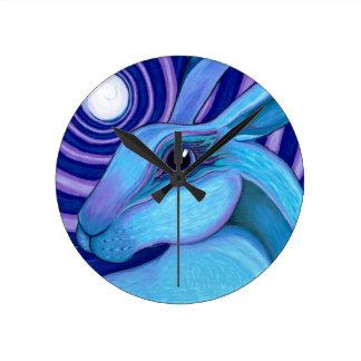 天のノウサギ ラウンド壁時計