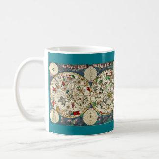 天の地図のマグ コーヒーマグカップ