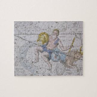 「天の地図書」からのアクエリアスそして山羊座、 ジグソーパズル