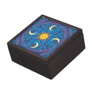 天の曼荼羅の記念品箱 ギフトボックス