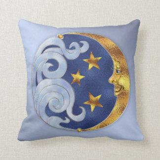 天の月および星 クッション