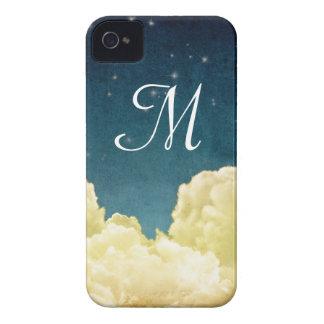 天の眺めはモノグラムのIphone 4ケースを主演します Case-Mate iPhone 4 ケース