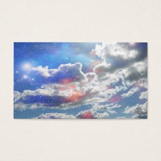 天の雲 名刺