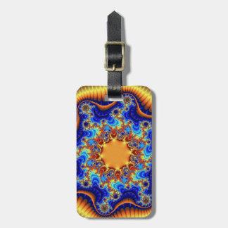 天のFractalscopeの荷物のラベル ラゲッジタグ