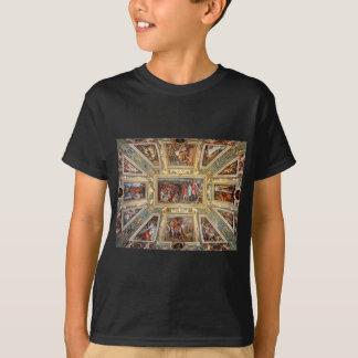 天井の装飾Palazzo VecchioフィレンツェGiorgi Tシャツ