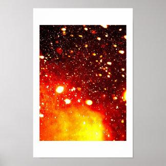 天体物理学の雪 ポスター