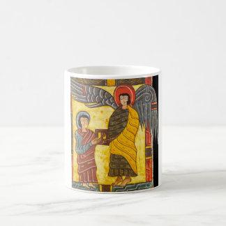 天使およびジョンApocolypse 2の極彩色写本 コーヒーマグカップ