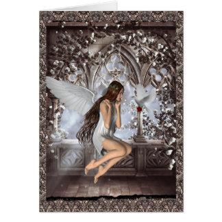 天使および彼女の鳩 カード