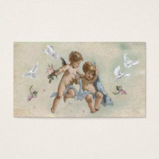 天使および鳩のテレホンカード 名刺