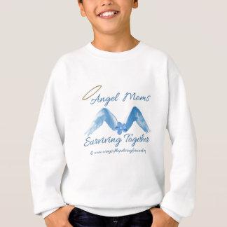 天使のお母さんSurviving.png スウェットシャツ