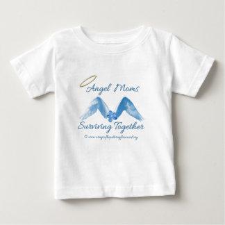 天使のお母さんSurviving.png ベビーTシャツ