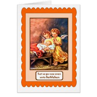 天使のイエス・キリスト カード
