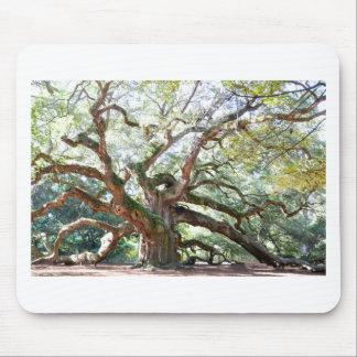 天使のオークの木のギフト マウスパッド
