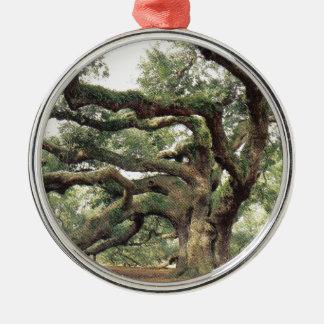 天使のオークの木1,000歳 メタルオーナメント
