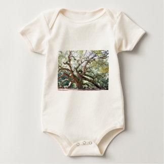 天使のオークの木 ベビーボディスーツ