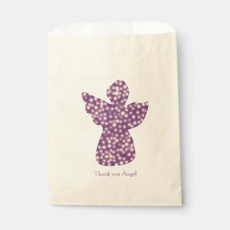 天使のカスタムなベージュ色の好意のバッグありがとう フェイバーバッグ