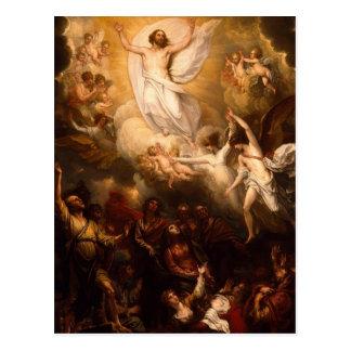 天使のキリストの上昇 ポストカード