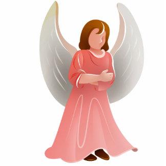 天使のクリスマスのオーナメント 写真彫刻オーナメント