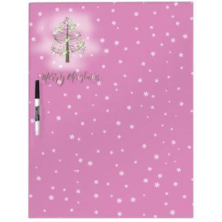 天使のクリスマスツリーの蘭のピンクID197 ドライイレースボード