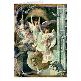 天使のクリスマス鐘 カード