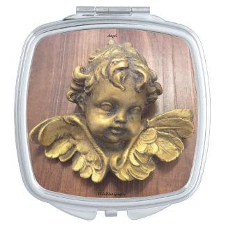 天使のコンパクトの鏡