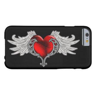天使のゴシックのハートによってはiPhone6ケースが飛びます Barely There iPhone 6 ケース