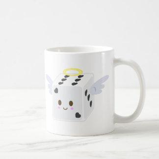 天使のサイコロ及び悪魔のサイコロ コーヒーマグカップ