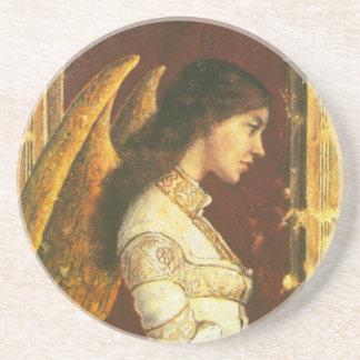 天使のフレスコ画のコースター コースター