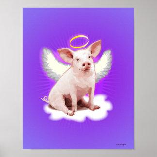 天使のブタ ポスター