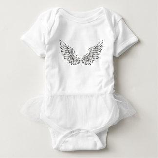 天使のベビー ベビーボディスーツ