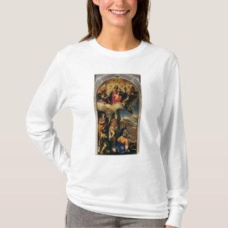 天使のミュージシャンおよび聖者を持つヴァージンそして子供 Tシャツ
