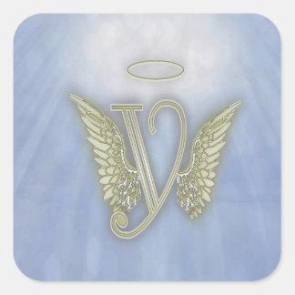 天使のモノグラム スクエアシール
