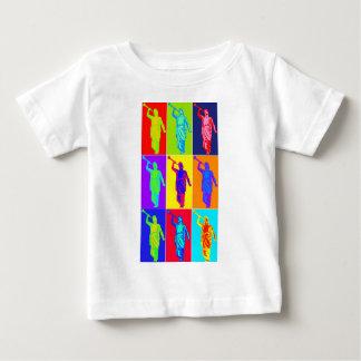 天使のモローニのポップアート ベビーTシャツ