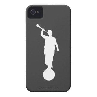 天使のモローニの例(ダークグレー) Case-Mate iPhone 4 ケース