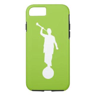 天使のモローニの例(ライムグリーン)のiPhone 7 case/5 iPhone 8/7ケース