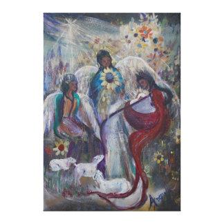 天使の出生 キャンバスプリント