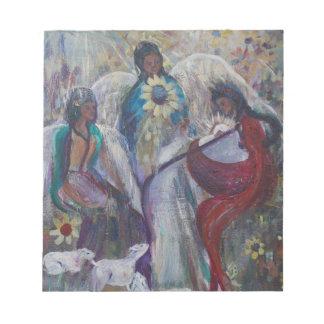 天使の出生 ノートパッド