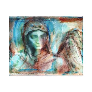 天使の勉強f6 キャンバスプリント