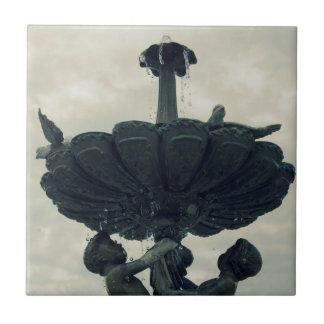 天使の噴水 タイル
