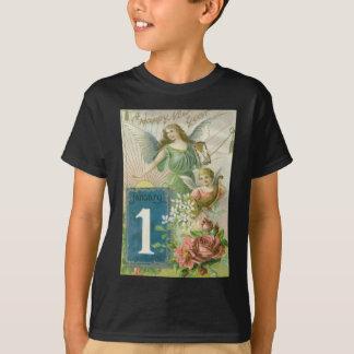 天使の天使のばら色のコルヌコピア日曜日 Tシャツ