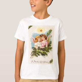 天使の天使の常緑の大枝の天国 Tシャツ