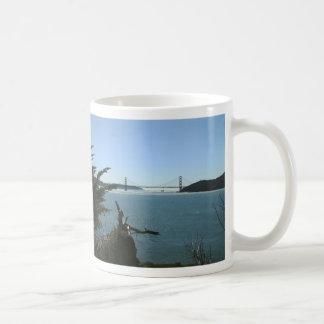 天使の島からのゴールデンゲートブリッジ コーヒーマグカップ