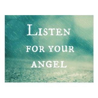 天使の引用文 ポストカード