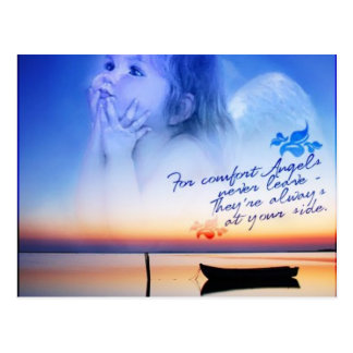 天使の心地よい ポストカード