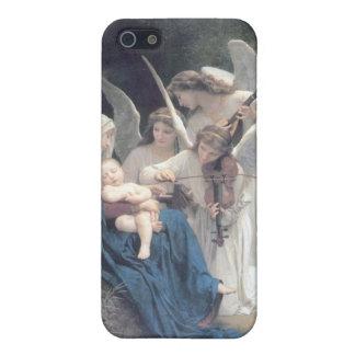 天使の旧式な絵画のベビーの宗教の歌 iPhone SE/5/5sケース